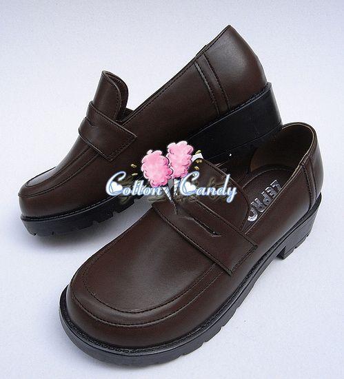 Sapato colegial Marrom