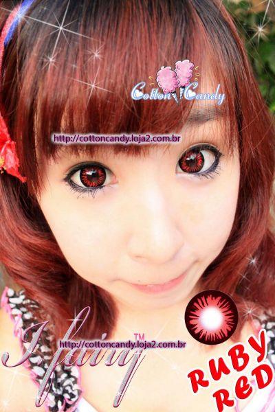 Lentes I Fairy Ruby - Vermelha